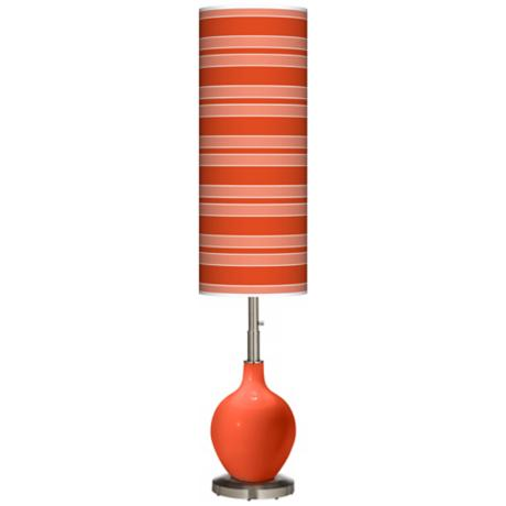 Daredevil Bold Stripe Ovo Floor Lamp