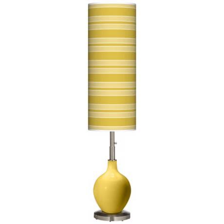 Nugget Bold Stripe Ovo Floor Lamp
