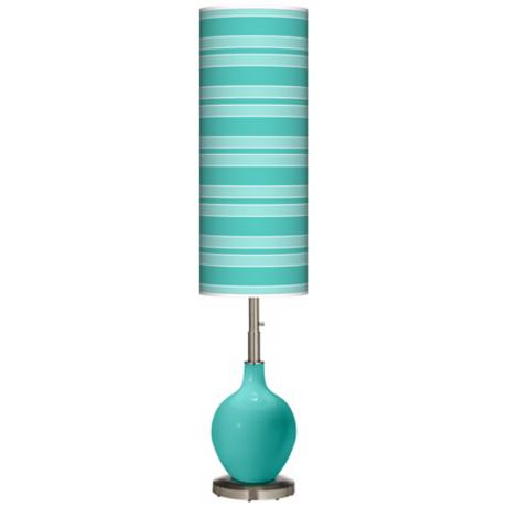 Synergy Bold Stripe Ovo Floor Lamp