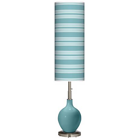 Reflecting Pool Bold Stripe Ovo Floor Lamp