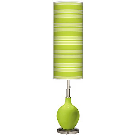 Tender Shoots Bold Stripe Ovo Floor Lamp