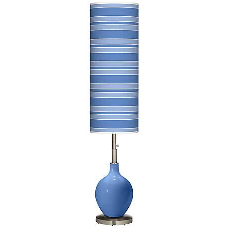 Dazzle Bold Stripe Ovo Floor Lamp