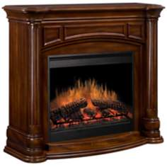Dimplex Belvedere Walnut Electric Fireplace