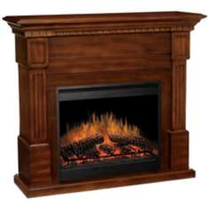 Dimplex Essex Walnut Electric Fireplace