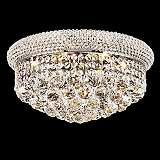 Primo 8-Light  Royal Cut Crystal and Chrome Ceiling Light