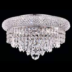 Primo Chrome 6-Light Royal Cut Crystal Ceiling Light