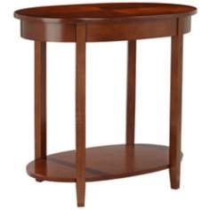 Delaney Oval Accent Table