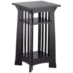 Edgewater Collection Black Plant Stand