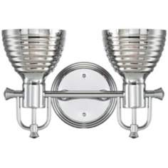 "Possini Euro Emmitt 14 1/2"" Wide 2-Light Wall Sconce"