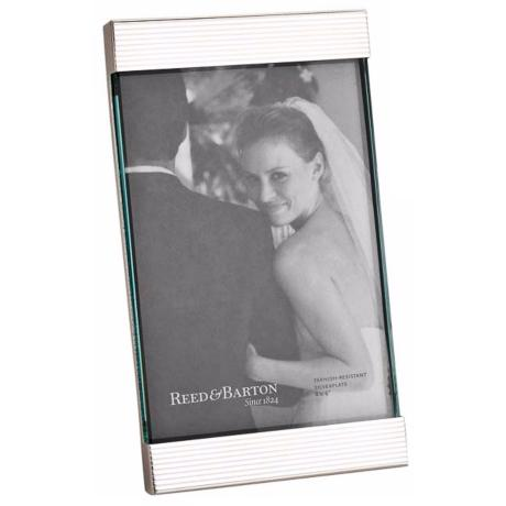 Reed and Barton Boulevard 4x6 Silverplate Photo Frame