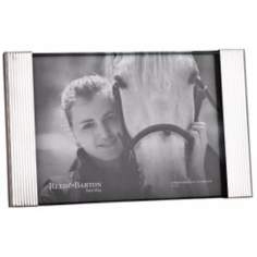 Reed and Barton Boulevard 5x7 Silverplate Photo Frame