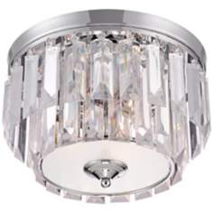"Lilla Chrome 13 1/2"" Wide Contemporary Ceiling Light"