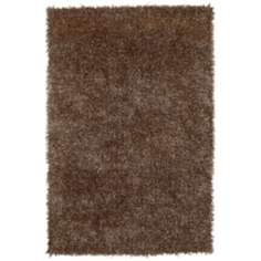 Belize BZ100 Gold 106 Shag Area Rug
