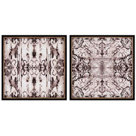 "Tin Tile II Set of 2 26"" Giclee Wall Art"