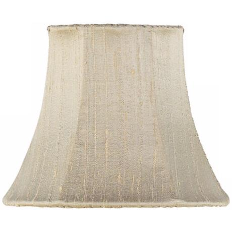 Taupe Silk Shade 3x5x4.25 (Clip-On)