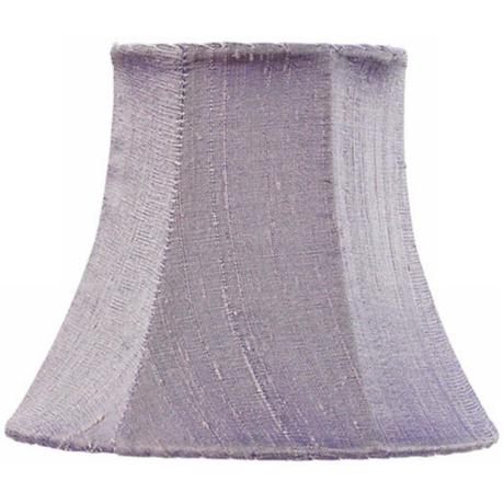 Lavender Silk Shade 3x5x4.25 (Clip-On)
