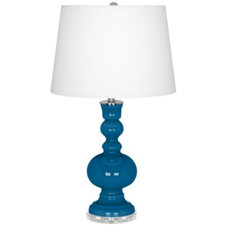 Mykonos Blue Apothecary Table Lamp