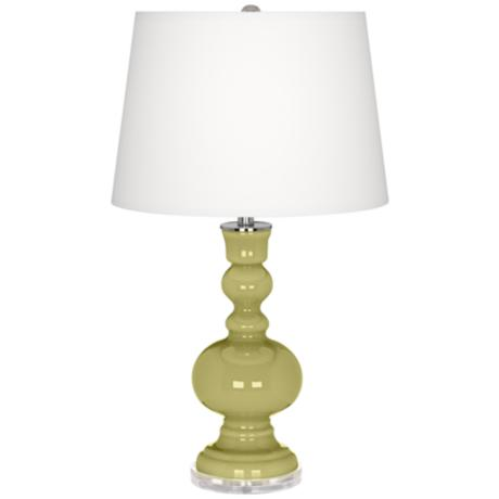 Linden Green Apothecary Table Lamp