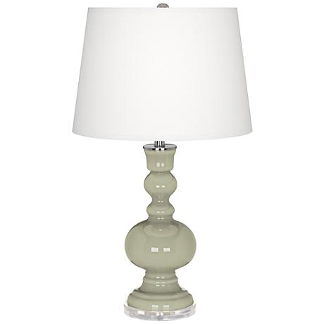 Svelte Sage Apothecary Table Lamp