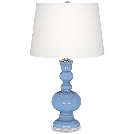 Placid Blue Apothecary Table Lamp