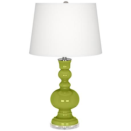 Parakeet Apothecary Table Lamp