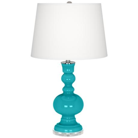 Surfer Blue Apothecary Table Lamp