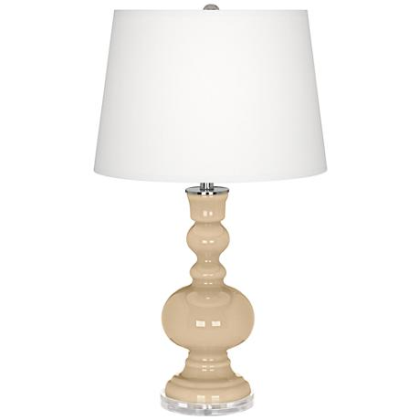 Colonial Tan Apothecary Table Lamp