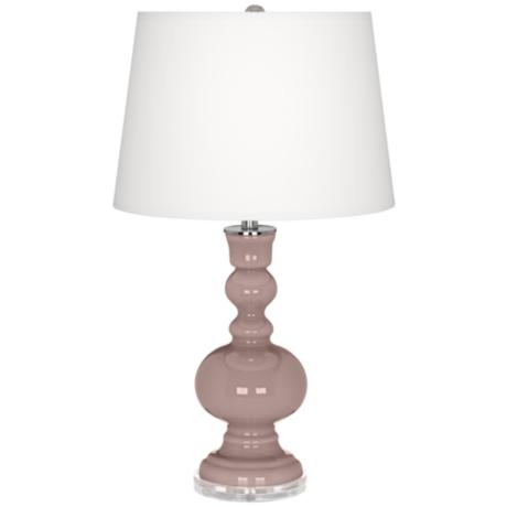 Dressy Rose Apothecary Table Lamp