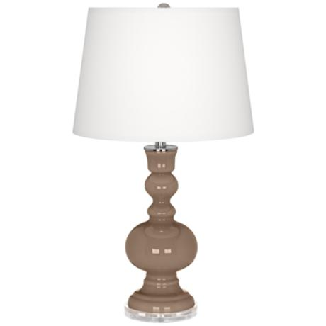 Mocha Apothecary Table Lamp