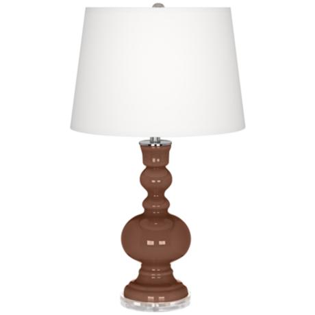 Rugged Brown Apothecary Table Lamp