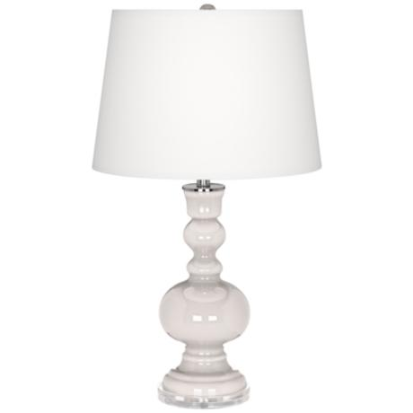 Smart White Apothecary Table Lamp