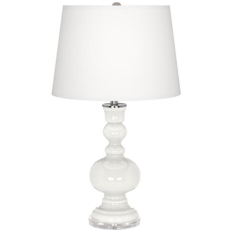 Winter White Apothecary Table Lamp