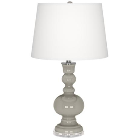 Requisite Gray Apothecary Table Lamp