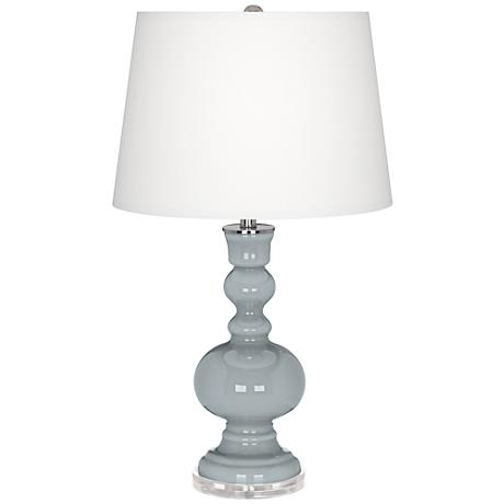 Uncertain Gray Apothecary Table Lamp