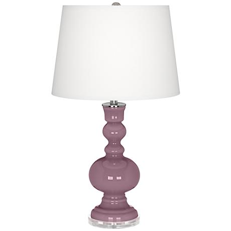 Plum Dandy Apothecary Table Lamp