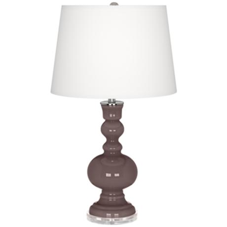 Deepest Mauve Apothecary Table Lamp