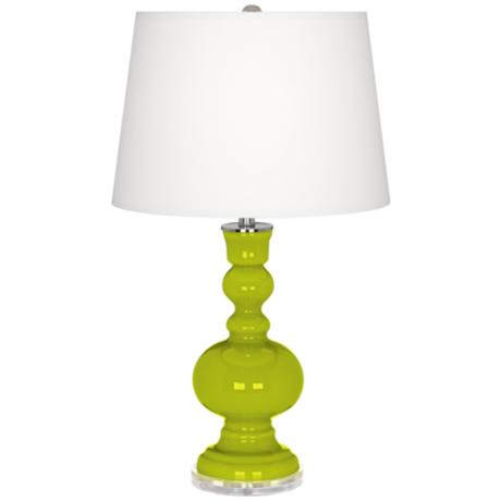 Pastel Green Apothecary Table Lamp