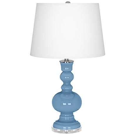 Dusk Blue Apothecary Table Lamp