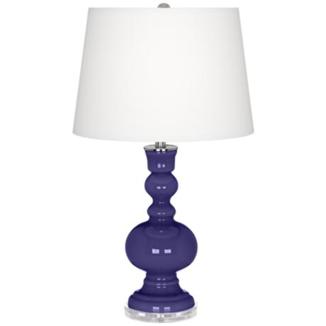 Valiant Violet Apothecary Table Lamp