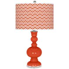 Daredevil Narrow Zig Zag Apothecary Table Lamp