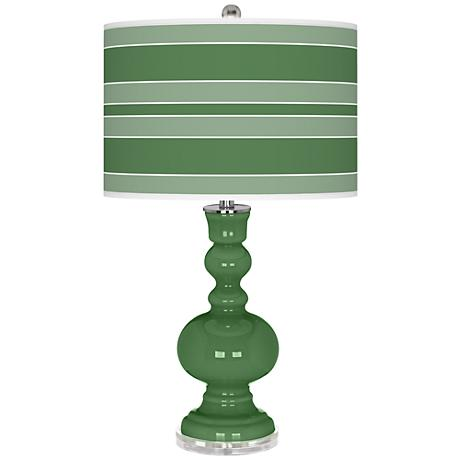 Garden Grove Bold Stripe Apothecary Table Lamp