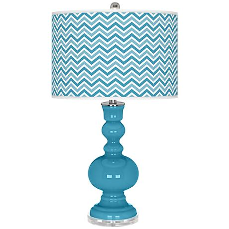 Jamaica Bay Narrow Zig Zag Apothecary Table Lamp