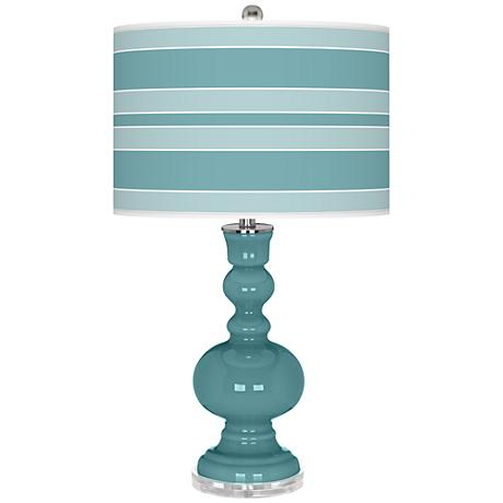 Reflecting Pool Bold Stripe Apothecary Table Lamp