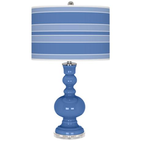 Dazzle Bold Stripe Apothecary Table Lamp