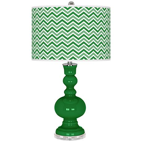 Envy Narrow Zig Zag Apothecary Table Lamp