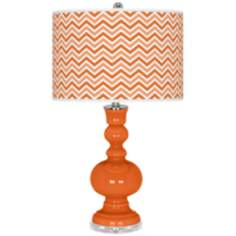 Invigorate Narrow Zig Zag Apothecary Table Lamp