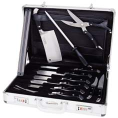 BergHOFF Ergonomic Forged 12-piece Metal Knife Set