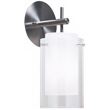 "Tech Lighting 13"" High Satin Nickel Echo Wall Sconce"