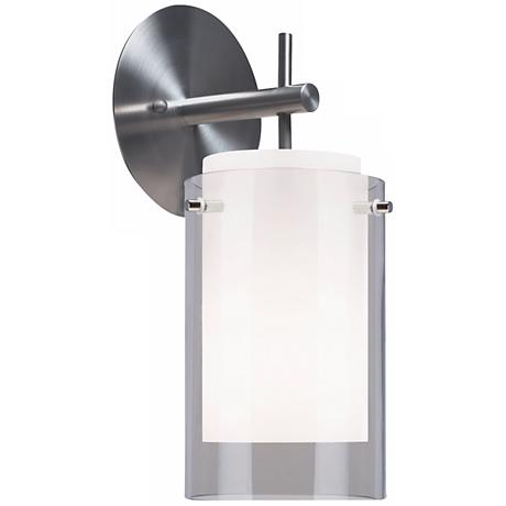 "Tech Lighting 13"" High Smoke Echo Wall Sconce"