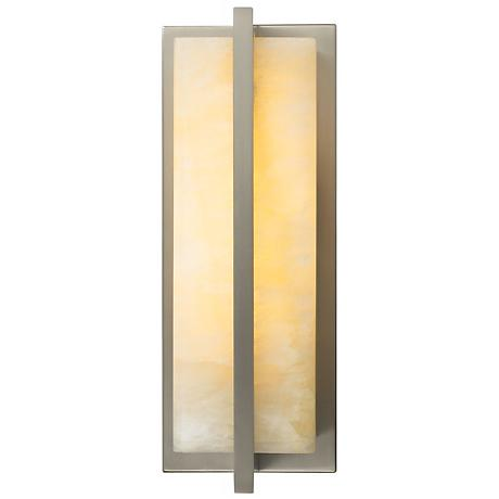 "Coronado 11 1/4"" High Honey Onyx LED Wall Sconce"